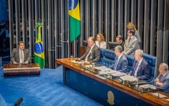 Sessão Solene no Senado Federal