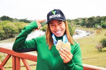 Sicoob patrocina atleta Medalha de Ouro