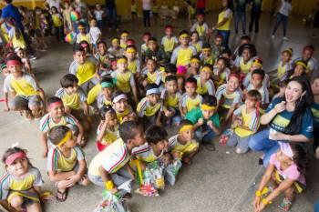Sicoob Integração faz festa para crianças
