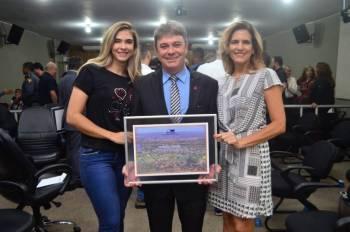 Presidente da Coopema é homenageado pelo legislativo municipal