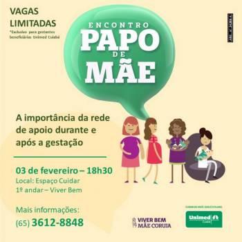 Unimed Cuiabá: Papo de mãe