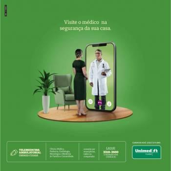 Unimed Cuiabá lança Telemedicina Ambulatorial