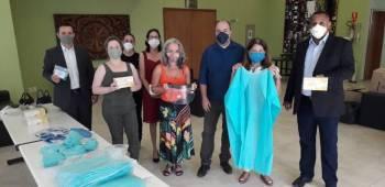 Sicredi Ouro Verde doa EPIs para o Pronto-Socorro de Cuiabá,