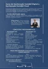 Curso de Escrituração Contábil Digital e Escrituração Contábil Fiscal