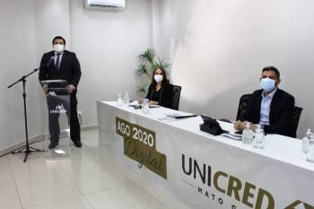 Unicred MT realiza AGO em plataforma virtual e tem contas aprovadas