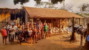 Cooperativas de crédito fazem doações a comunidades indígenas no Pantanal