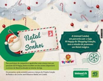 Unimed Cuiabá fecha parceria com loja de brinquedos