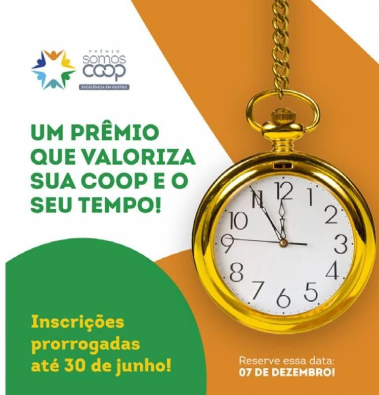 Prêmio SomosCoop Excelência em Gestão 2021 têm agora novo prazo