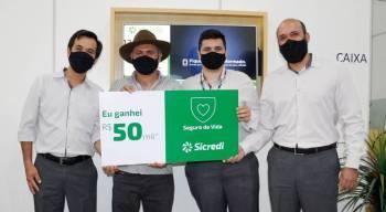 Associado de São José dos Quatro Marcos é contemplado com prêmio de 50 mil reais em Seguro de Vida