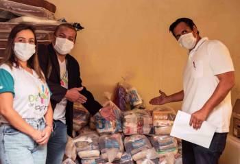 Unicred MT doa mais de 21 toneladas de alimentos