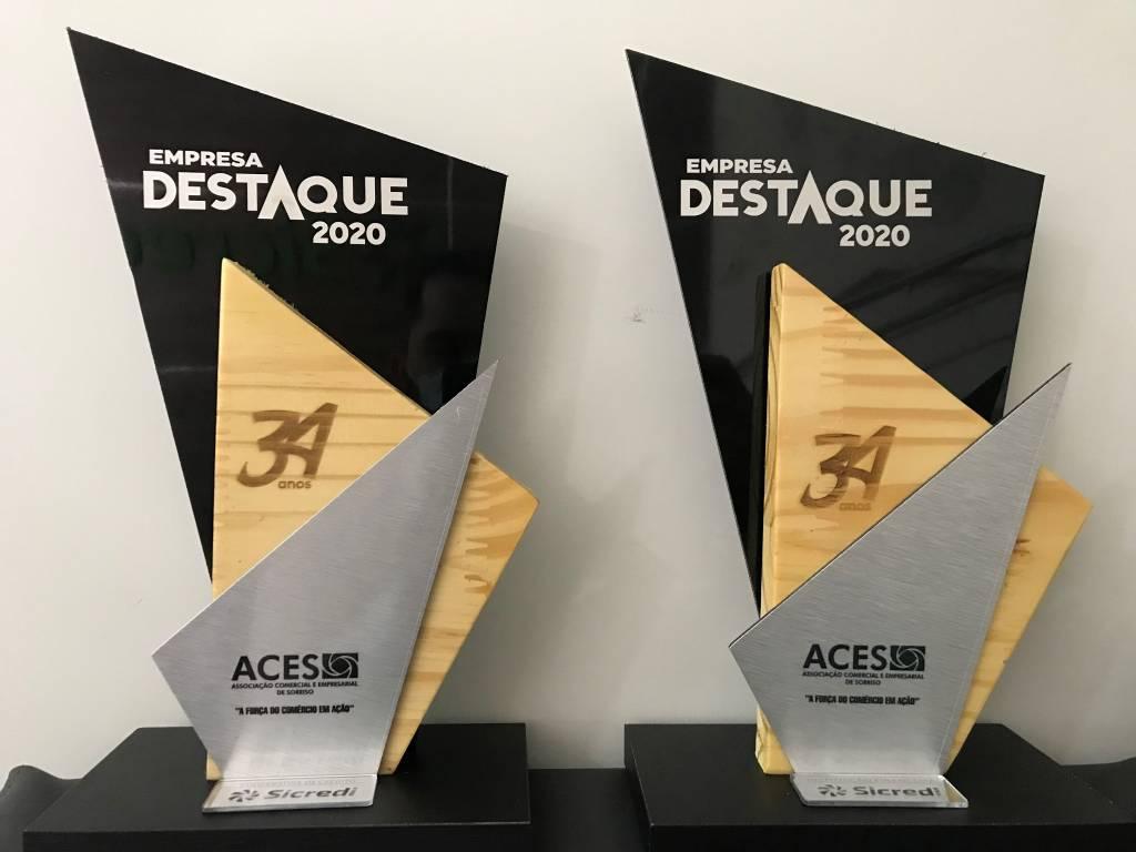 Sicredi Celeiro é destaque em prêmio da ACES de Sorriso